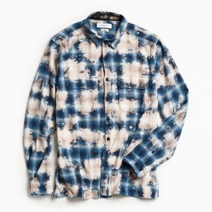 Urban Outfitters Renewal Bleached Flannel
